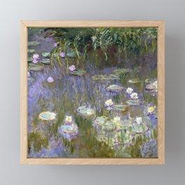 """Claude Monet """"Water lilies""""(2) Framed Mini Art Print"""