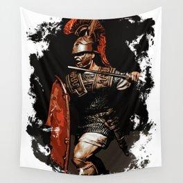 Roman Legionary at War Wall Tapestry