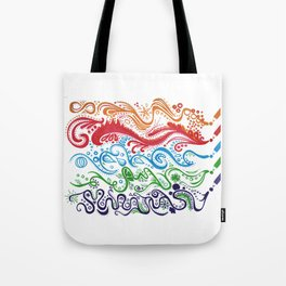 Thoughts in Color Tote Bag
