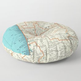 Oregon Coast Floor Pillow