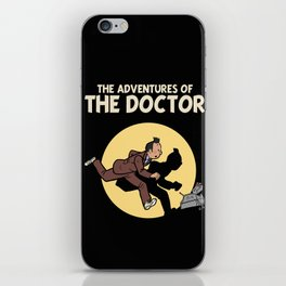 The Adventures Of The Doctor iPhone Skin