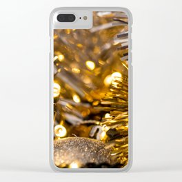 Golden Cheer IV Clear iPhone Case