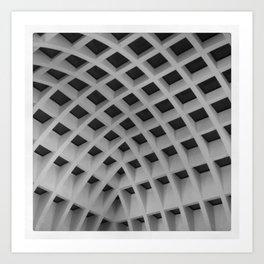 POEM OF A CEILING - NO.2 Art Print