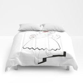 Bride Girl Comforters