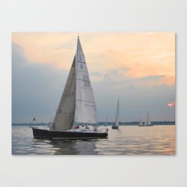 Only Game in Town Canvas Print