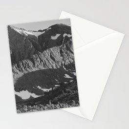 Peak above Woody Lake, Kings River Canyon Stationery Cards