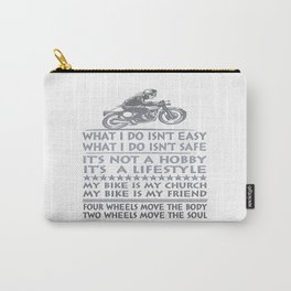 Biker Carry-All Pouch