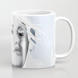 Headphone Girl v2 Coffee Mug