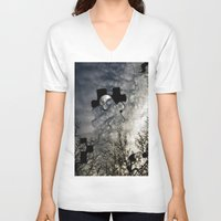 surrealism V-neck T-shirts featuring Sky Surrealism. by Jess Noelle