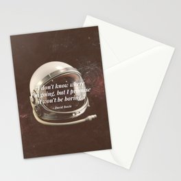 """""""I Don't Know Where I'm Going"""" Bowie Tribute Stationery Cards"""