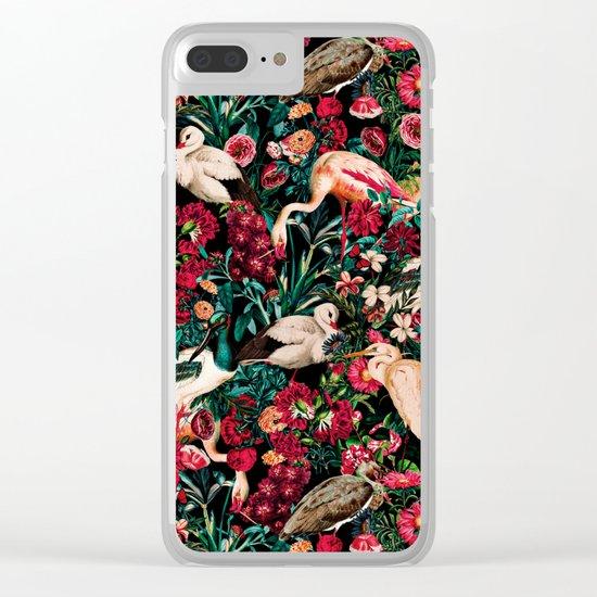 Long Leggend Birds II Clear iPhone Case
