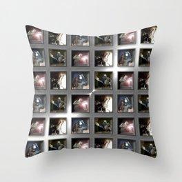 Welding Pattern Throw Pillow