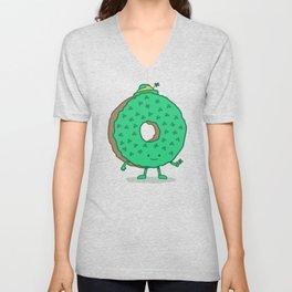 The St Patricks Day Donut Unisex V-Neck
