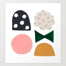 Gumdrop Party Art Print