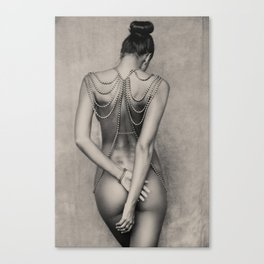 Body chain Canvas Print