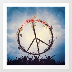 Music and Peace Art Print
