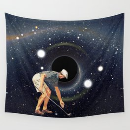 Black Hole in One Wall Tapestry