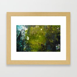 Forgotten path Framed Art Print