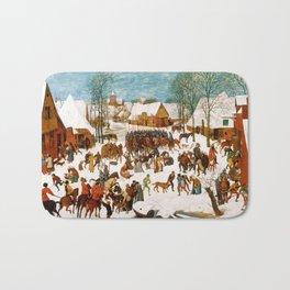 Massacre of the Innocents by Pieter Bruegel the Elder Bath Mat