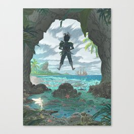 Pan - Storm Edition Canvas Print