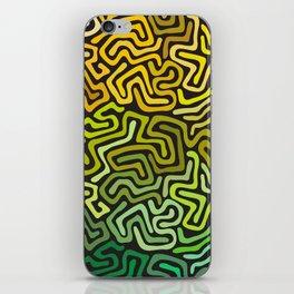Green Worms iPhone Skin