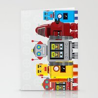 robots Stationery Cards featuring robots by notbook