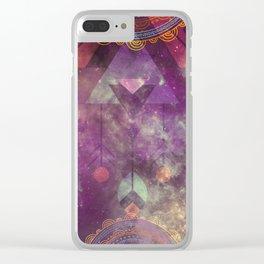 Magical Bohemian Clear iPhone Case