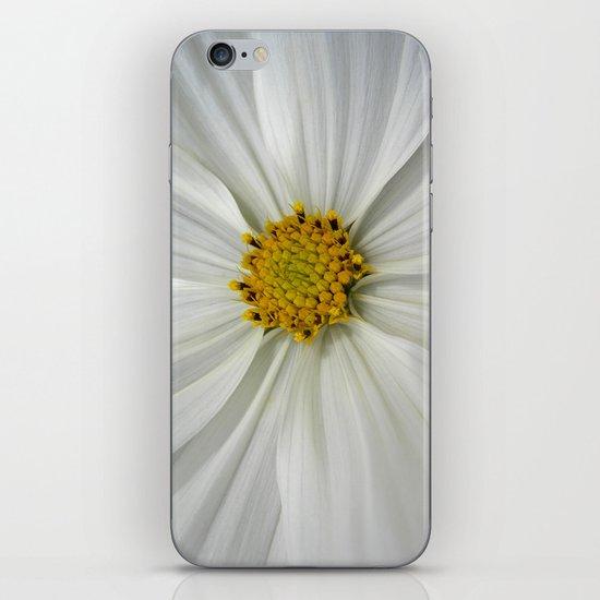 white cosmos III iPhone & iPod Skin