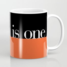 Design is One — Honoring Massimo Vignelli Coffee Mug