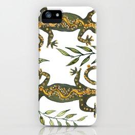 Lady Gecko iPhone Case