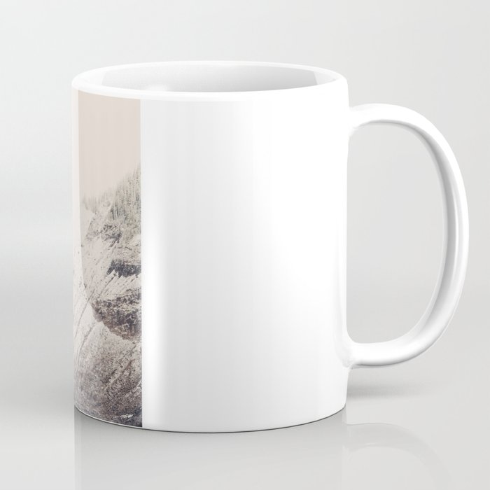 Winter Mountain Morning Coffee Mug