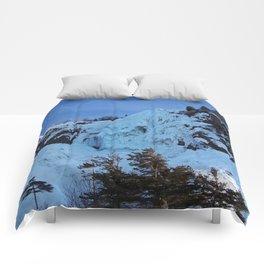 Frozen Waterfall Comforters