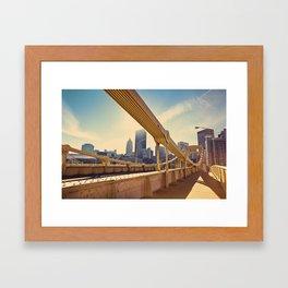 Pittsburgh, PA, USA Framed Art Print