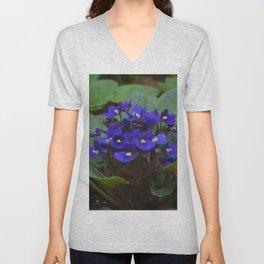 Floral Print 075 Unisex V-Neck
