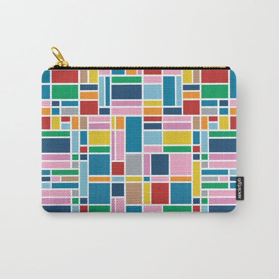 Stained Glass W Carry-All Pouch