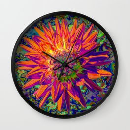 "Extreme Dahlia ""Weston Spanish Dancer"" Wall Clock"