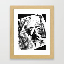 Between Dream & Reality Framed Art Print