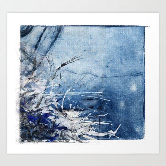 In Stormy Waters Art Print