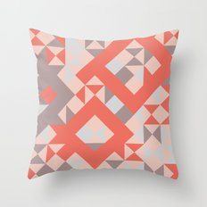 TangerineTango Throw Pillow