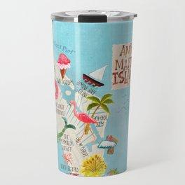 Anna Maria Island Map Travel Mug