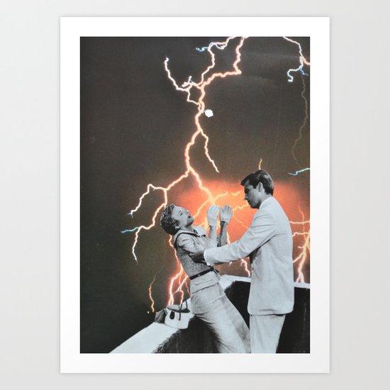 Electric Feel Art Print
