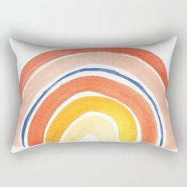 Desert Rainbow Rectangular Pillow