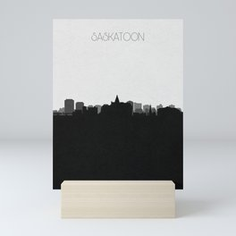 City Skylines: Saskatoon Mini Art Print
