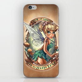 Those Who Wander Are Not Always Lost iPhone Skin