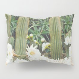 Cactus and Flowers Pillow Sham