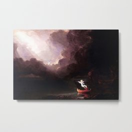 Voyage of Life: Old Age No. 4 of 4 by Thomas Cole Metal Print