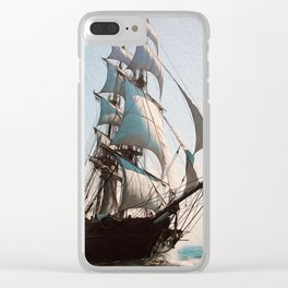 Black Sails Clear iPhone Case