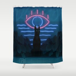 Forgotten Pool Shower Curtain