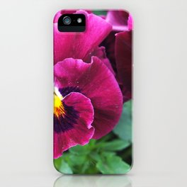 Spring flowers. iPhone Case