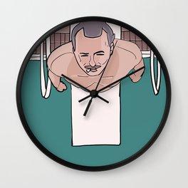 Herman Blume (Bill Murray) on Diving Board (Rushmore) Wall Clock